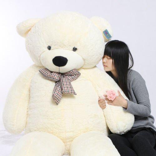 Buy Joyfay 91'' 230cm White Giant Teddy Bear Stuffed Plush Toy Valentine Gift