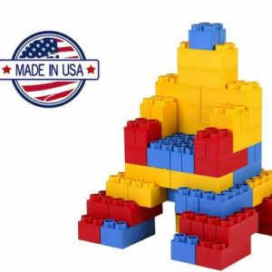Buy Jumbo Colored Blocks 96-Piece Building Legos Open Box SEE DETAILS *
