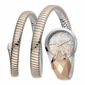 Buy Just Cavalli Women's JC1L114M0075 Glam Time EVO 1 Steel Bracelet Watch