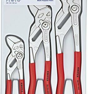 Buy KNIPEX Tools 00 20 06 US2, Pliers Wrench 3-Piece Set