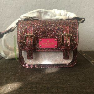 Buy Kate Spade Girls' Scout Cross-Body Bag Multi Color Glitter
