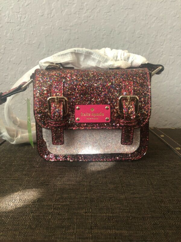 Buy Kate Spade Girls' Scout Cross-Body Bag Multi Color Glitter