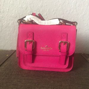 Buy Kate Spade Girls' Scout Cross-Body Bag Sweet Heart Pink