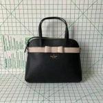 Buy Kate Spade Kirk Park Julita Saffiano Leather Bag Satchel Crossbody in Black/wrbg