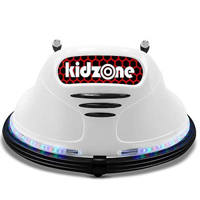 Buy Kidzone Race #22 Kids Electric 360 Degree Spinning Race Bumper Car W/Remote Ride