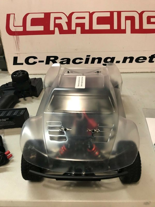 Buy LC RACING 1:14 4WD Mini Brushless Short Course Truck RTR EP RC Cars #EMB-SCH
