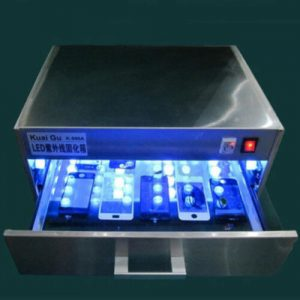 Buy LED UV Curing Box Machine Drawer Type Lamp Repair Tool for Cell Phone Curing Y