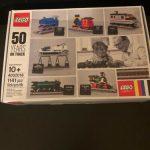 Buy LEGO 4002016 Employee Christmas Gift  2016 - 50 Years on Track NEW MISB