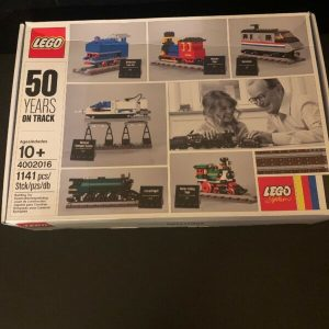 Buy LEGO 4002016 Employee Christmas Gift  2016 - 50 Years on Track NEW MISB