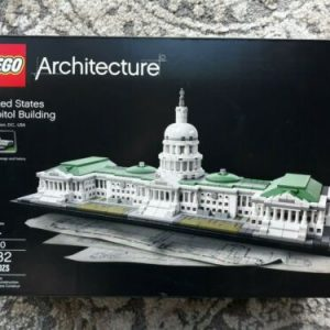 Buy LEGO Architecture United States Capitol Building 21030 NEW SEALED 1032 Pieces