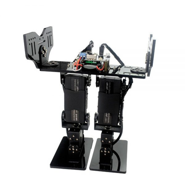 Buy LOBOT 6DOF RC Robot Walking Turn Somersault Programmable APP bluetooth Control