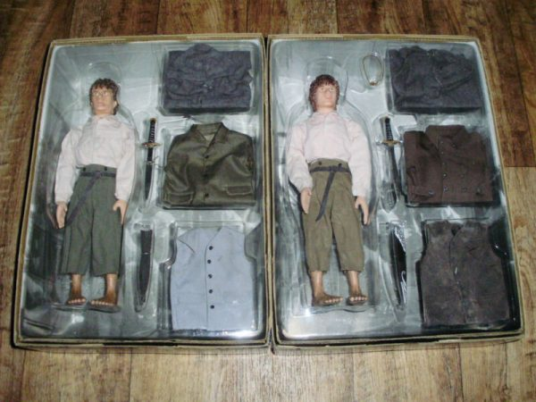 Buy LORD OF THE RINGS FRODO & SAMWISE COMPLETE MODEL KITS DOLLS ACTION FIGURES MINT