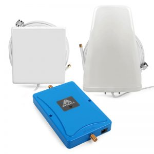Buy LTE 4G 700MHz Mobile Signal Booster Kit Antenna 70dB Gain for Band 28 Data Voice