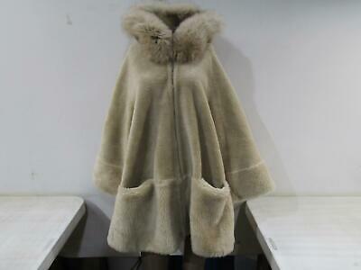 Buy La Fiorentina Women's US M Reversible Fox Fur Jacket Ivory TN1905