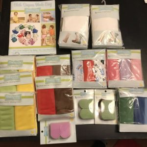 Buy Large Lot Of Babyville Boutique Cloth Diapering Supplies