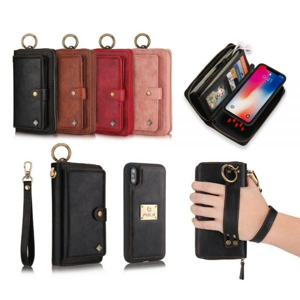 Buy Leather Wallet Magnetic Flip back cover Case For Huawei P30 / P30 PRO / P30 LITE