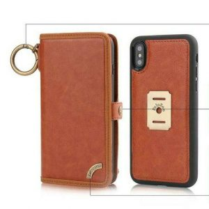Buy Leather flip BACK cover Case for Apple iPhone & for Samsung galaxy MODELS SELECT