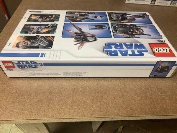 Buy Lego Star Wars The Clone Wars Count Dooku's Solar Sailer (7752)