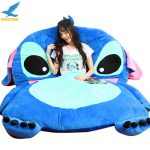 Buy Lilo & Stitch Sofa Bed Stuffed Cartoon Tatami Mattress Sleeping Bed Novelty Gift