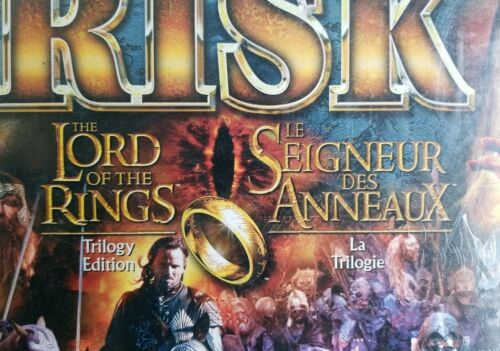 Buy Lord of the Rings LOTR Risk Trilogy Edition 2003 Canadian Version Brand New NOS