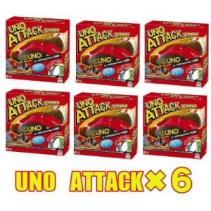 Buy Lot 6 Mattel  UNO Attack Card Game