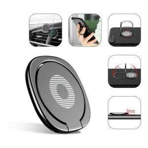 Buy Lot* Metal Finger Ring Holder For Samsung For Magnetic Car Phone Holder Stand