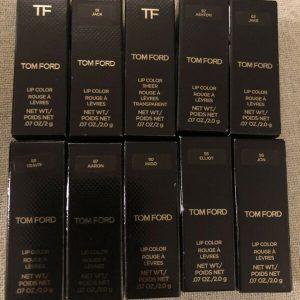 Buy Lot Of 10 Tom Ford Mini Lipsticks Boy Names New
