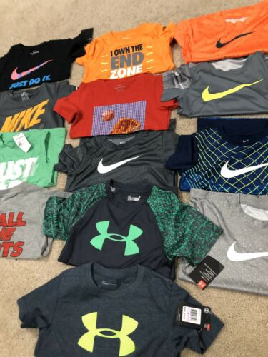 Buy Lot Of New Boys Nike & Under Armour Shirts-size 6