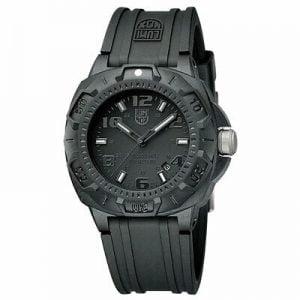 Buy Luminox Men's Watch Sentry 0200 Series Black Dial Silicone Rubber Strap 0201.BO
