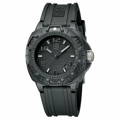 Buy Luminox Men's Watch Sentry 0200 Series Black Dial Silicone Rubber Strap 0201.BO