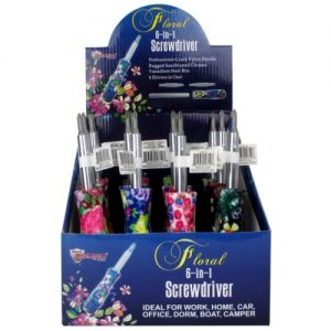 Buy MAX FORCE 22-2220712  POP 6 IN 1 SCREWDRIVER FLORAL