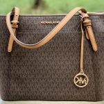 Buy MICHAEL KORS CIARA LG SHOULDER BAG TOTE BROWN  SIGNATURE and TRIFOLD WALLET