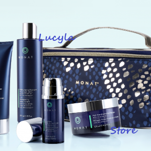 Buy MONAT Hair Set New Restructuring Hair Care Collection Mask Serum Train Case 5Pcs