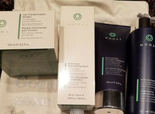 Buy MONAT Restructuring Hair Care Collection.4PC NEW