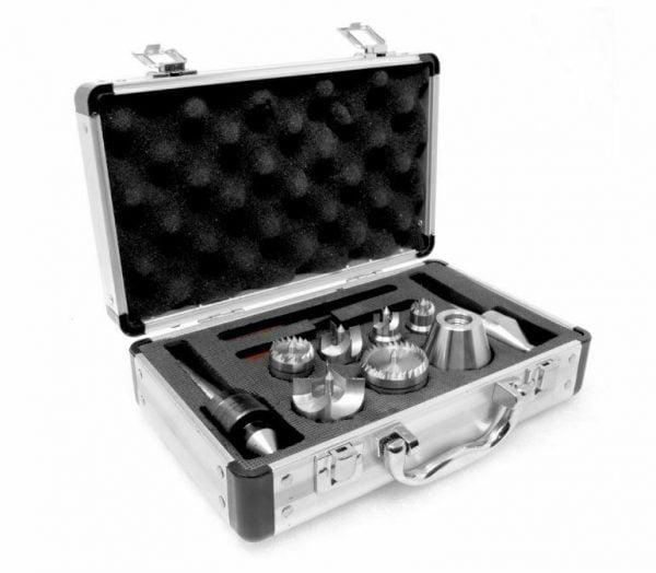 Buy MT2 Wood Lathe 3 multi Spur Drive Live Center Kit Aluminum Case 9Piece