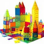 Buy Mag-Genius Award Winning building Magnet Tiles Toy Clear Colors 3D Brain Buildin