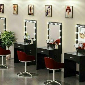 Buy Makeup Vanity Dressing Table Set Dresser Desk with 10 Led Light Hollywood Mirror