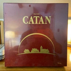 Buy Mayfair Games 'Settlers of Catan' 15th Anniversary Wood Edition - UNOPENED