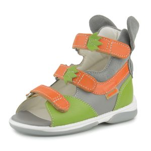 Buy Memo BUNNY Green Corrective Orthopedic Ankle Support Sandals, Toddler