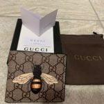 Buy Men Gucci Black Leather Wallet