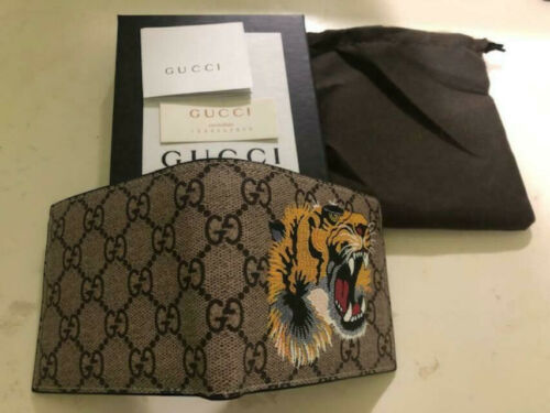 Buy Men Gucci Brown Leather Wallet