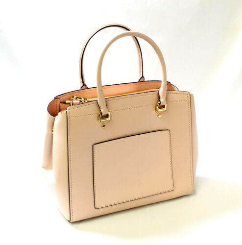 Buy Michael Kors Benning LG Leather Satchel Soft Pink