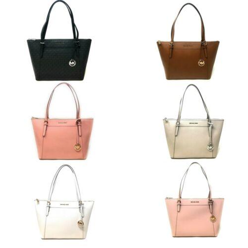 Buy Michael Kors Ciara Large Top Zip Leather Tote Handbag $398