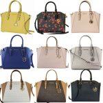 Buy Michael Kors Ciara Large Top Zip Satchel Saffiano Leather