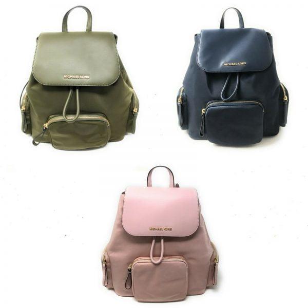 Buy Michael Kors Large Abbey Cargo Backpack Drawstring Bag $448
