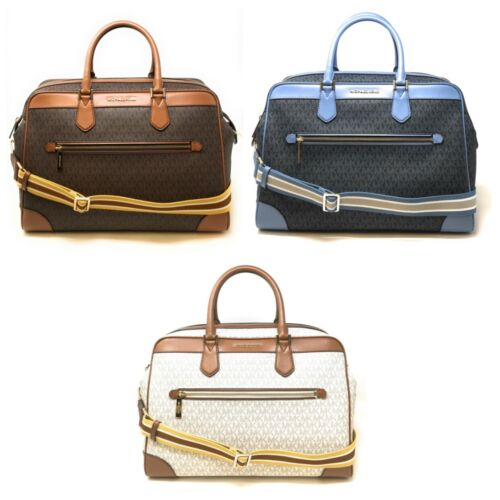 Buy Michael Kors Large Travel Weekender Leather Bag Handbag Crossbody Signature