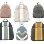 Buy Michael Kors  Medium Abbey Mk Signature Backpack Bag