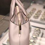 Buy Michael Kors Women Ladies Large Leather Pink Satchel Crossbody Handbag Purse Bag