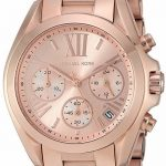 Buy Michael Kors Women's Bradshaw Chrono 100m Rose Gold Tone S. Steel Watch MK5799