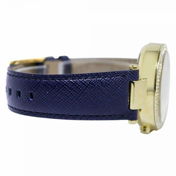 Buy Michael Kors Women's Parker MK2280 Blue Leather Quartz Watch